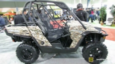 2013 Can-am Commander XT 1000 at 2014 Toronto ATV Show