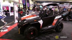 2015 CfMoto Z-Force 600 EFI Side by Side ATV at 2014 Toronto ATV Show
