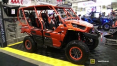 2015 Kawasaki Teryx4 800 LE Accessorized at 2014 Toronto ATV Show