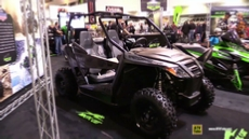2015 Arctic Cat Wildcat Trail Side by Side ATV at 2014 Toronto ATV Show