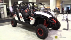 2015 Can-am Maverick Max 1000R X-RS Side by Side ATV at 2014 Toronto ATV Show