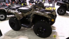 2015 Can-am Outlander L 450 EFI Recreational ATV at 2014 Toronto ATV Show