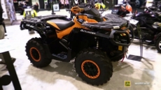 2015 Can-am Outlander 800R DPS Recreational ATV at 2014 Toronto ATV Show