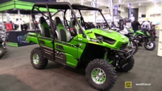 2015 Kawasaki Teryx4 800 LE Side by Side ATV at 2014 Toronto ATV Show