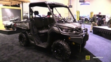 2016 Can Am Defender XT XD10 Diesel Utility ATV at 2015 AIMExpo Orlando