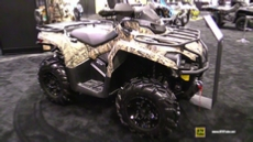 2016 Can Am Outlander L 570 Mossy Oak Hunting Edition ATV at 2015 AIMExpo Orlando