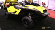 2016 Gibbs Quadski Search and Resque Amphibia Vehicle at 2015 AIMExpo Orlando