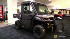 2017 Can Am Defender XT Cab HD8 at 2016 Toronto ATV Show