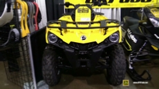 2017 Can Am Outlander 450 Yellow at 2016 Toronto ATV Show