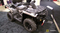 2017 Can Am Outlander Max XT 650 at 2016 Toronto ATV Show