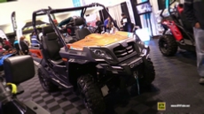 2017 CfMoto UForce 500 at 2016 Toronto ATV Show