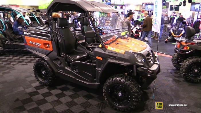 2017 cfmoto uforce 800 eps at 2016 toronto atv show. Black Bedroom Furniture Sets. Home Design Ideas