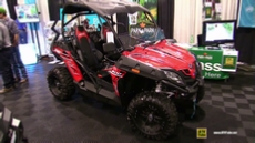 2017 CfMoto ZForce 800 at 2016 Toronto ATV Show